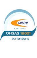 Certificado OHSAS-18001
