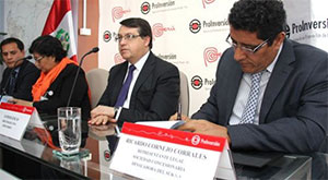 Signing of the concession contract for the Sanitation Services Provision project in the Southern Districts of Lima