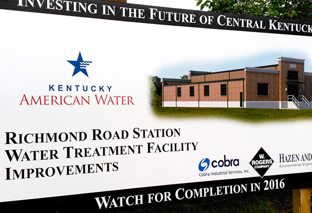 Tedagua to build new filtration facilities at Richmond Road DWTP in Lexington (Kentucky, USA)