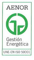 Certificado AENOR Gestión Energetica